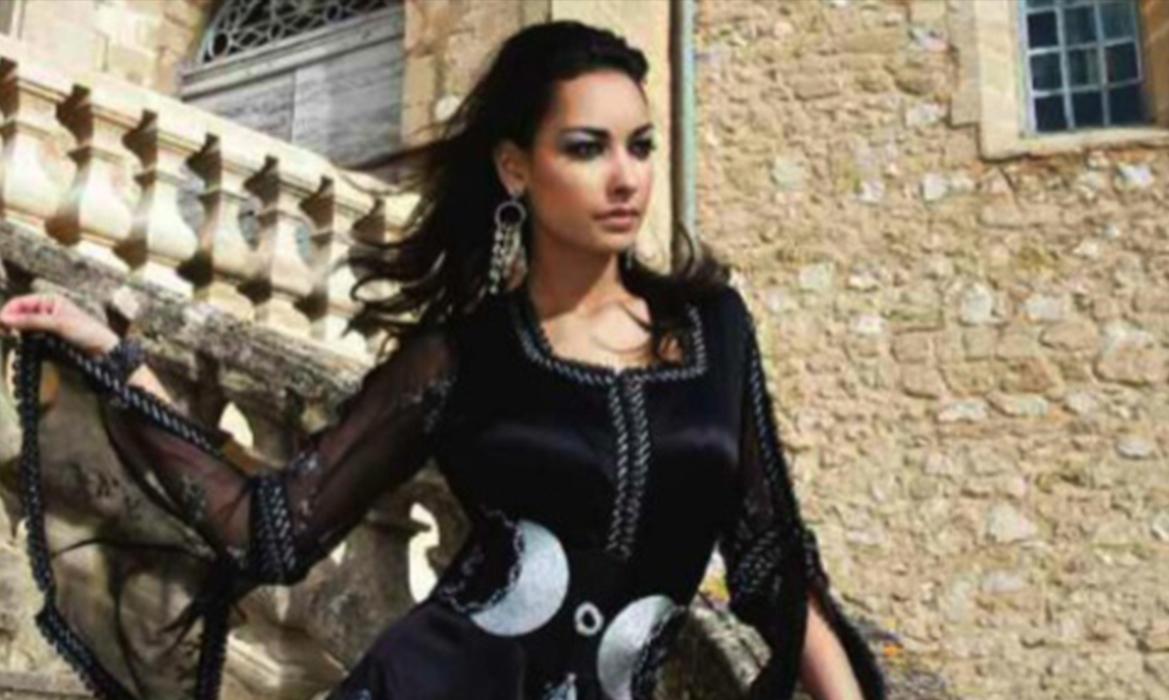 Caftan Haute Couture Par Wafa Brini