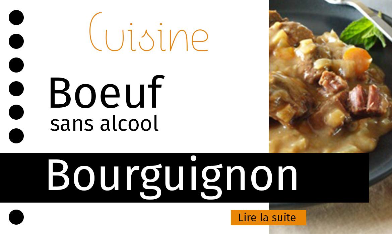 Recette boeuf bourguignon sans alcool - Recette boeuf bourguignon cocotte minute ...
