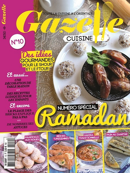 gazelle cuisine n 10 2015 sp cial ramadan