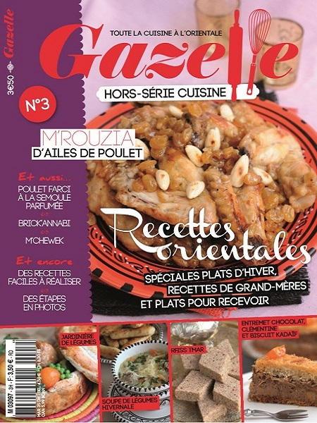 gazelle cuisine n 3 2012 recettes orientales sp ciales
