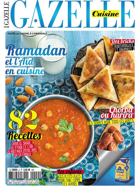 Gazellemag le magazine de la femme maghr bine for Gazelle cuisine hors serie