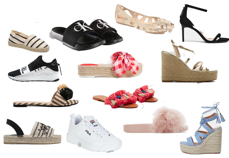 99293e8f676 La tendance chaussures printemps-été 2018 - Gazellemag