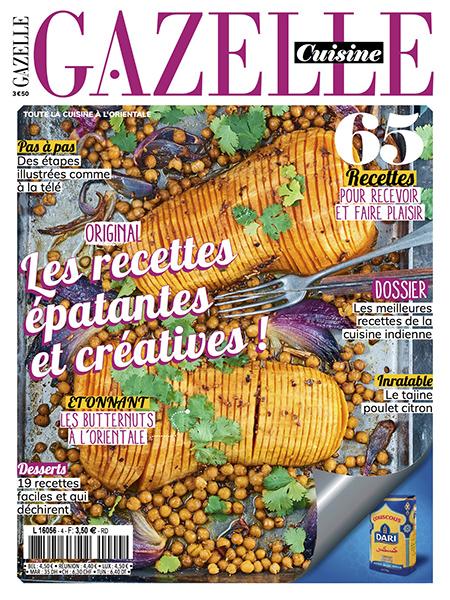 Gazelle cuisine n 19 oct 2018 recettes patantes for Gazelle cuisine hors serie