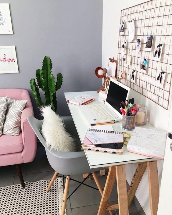 20 id es d co pour un bureau accueillant gazellemag - Idee deco bureau ...