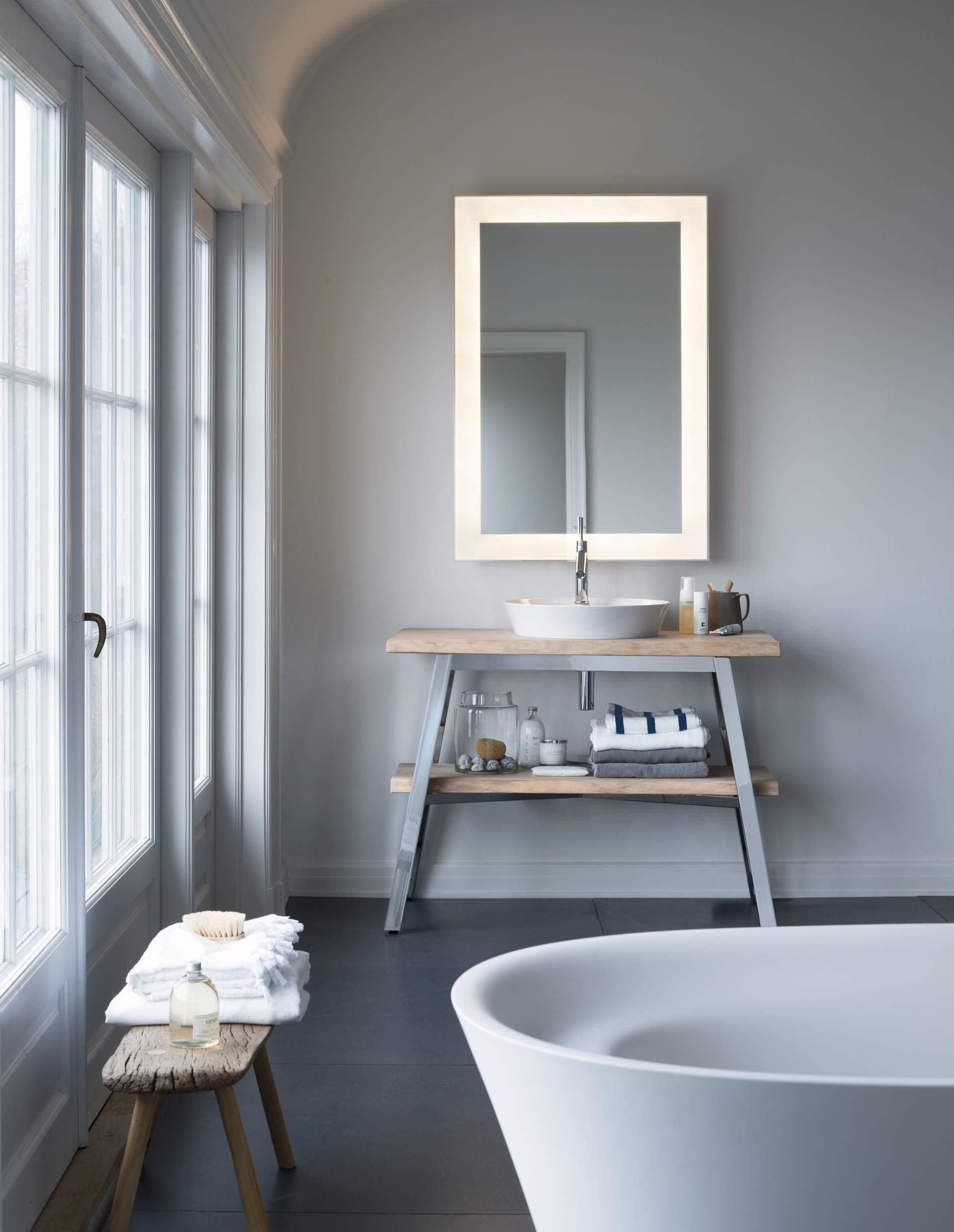 Aménager une salle de bain inspiration bois - Gazellemag